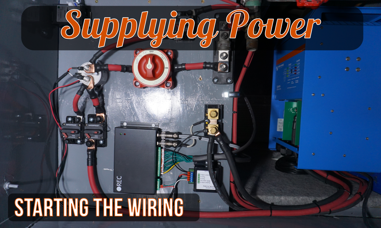 A Hacker's Take on RV House Batteries: Part 7 - Supply Side Wiring