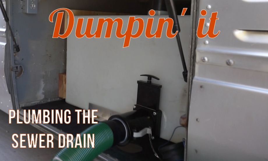 Dumpin' it!  Plumbing the Sewer Drain