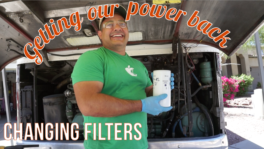Getting our Power Back: Changing Filters