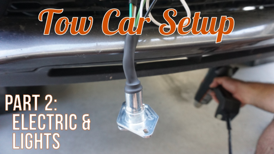 Setting Up our Tow Vehicle (2014 Dodge Durango R/T) - Part Two: Electric and Lights