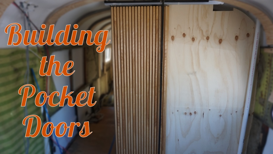 Building the Pocket Doors