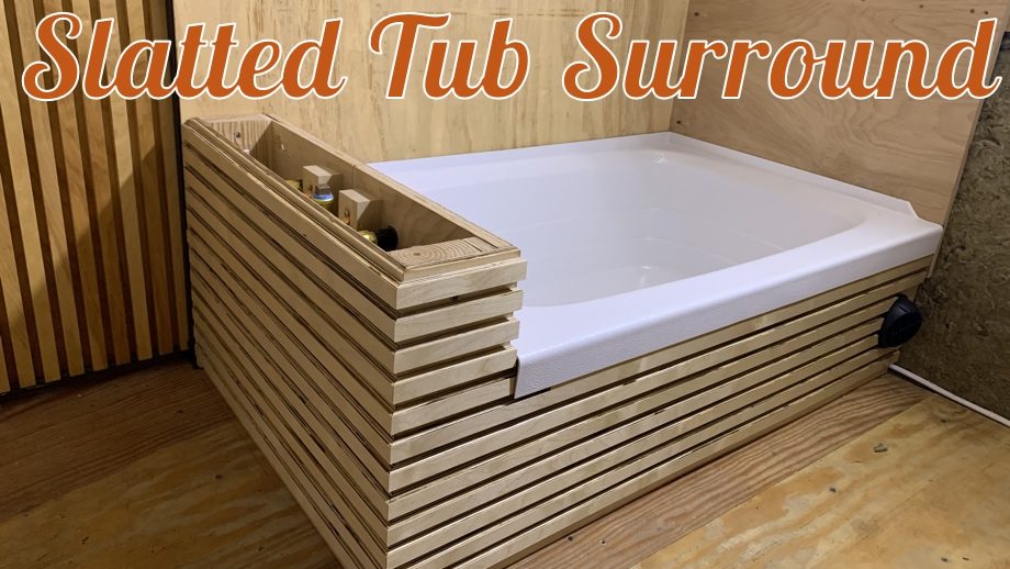 Slatted Tub Surround