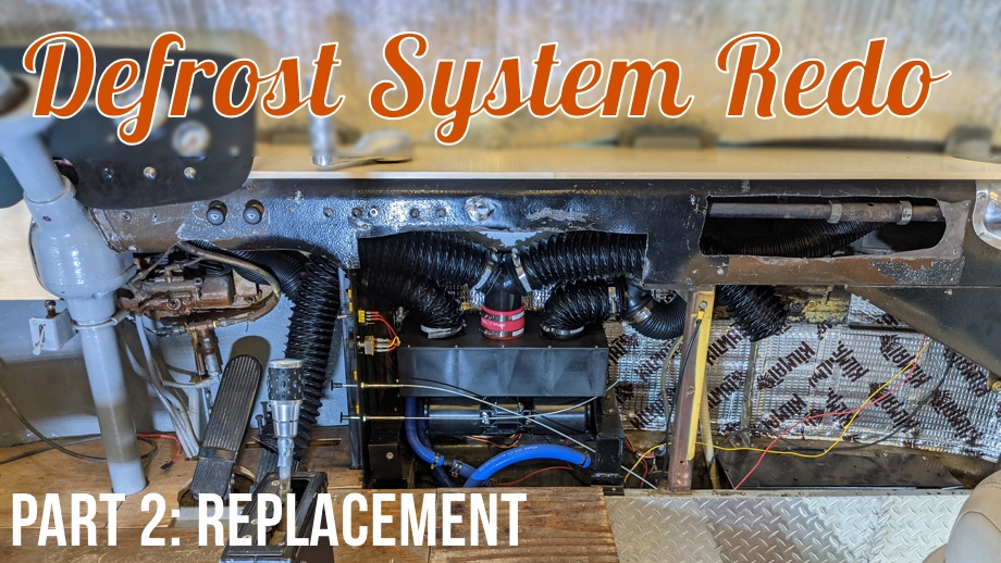 Defrost System - Part 2: Replacing with an Aftermarket System